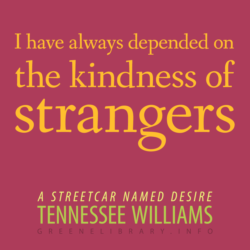 a streetcar named desire by tennessee Click to read more about a streetcar named desire by tennessee williams librarything is a cataloging and social networking site for booklovers.