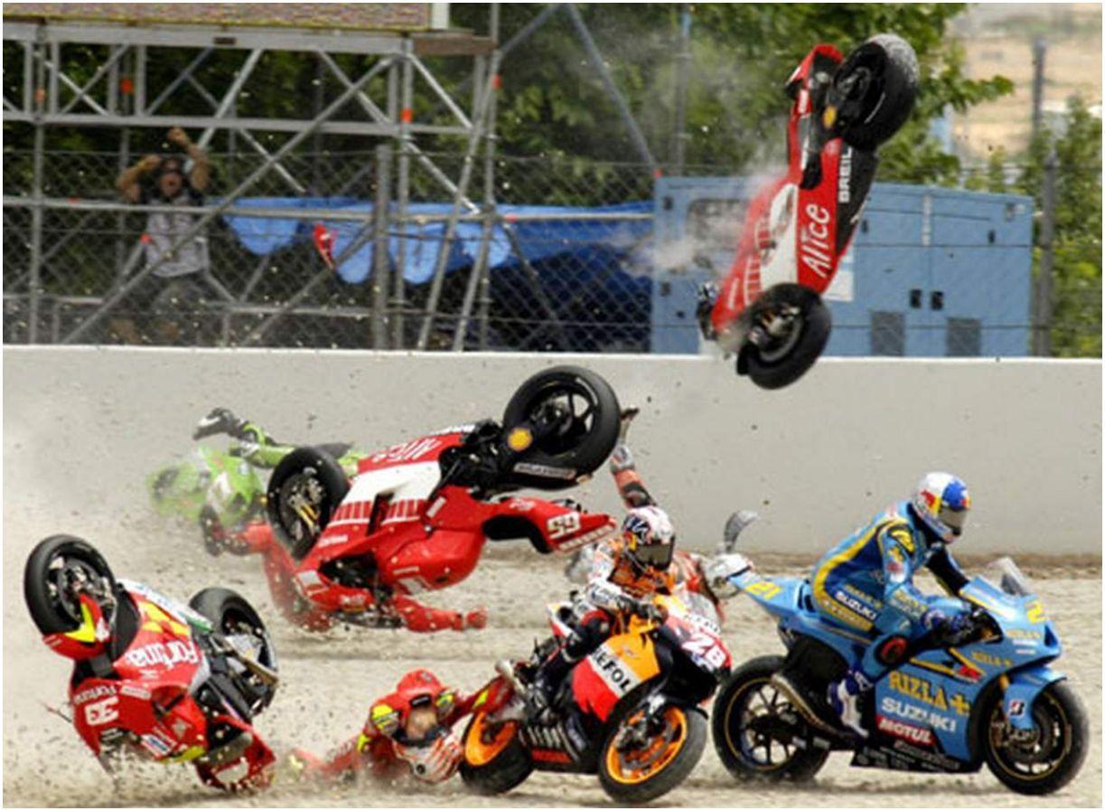 Catalunya Crash Racing Bikes Motogp Racing