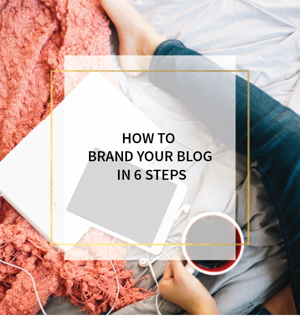 How to brand your blog in 6 steps! www.makesellgrow.com#socialmedia#tips