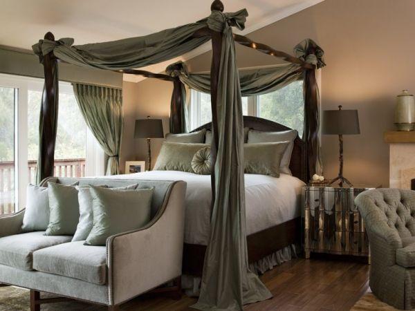10 Himmelbett Designs für moderne Schlafzimmer Einrichtung #designs