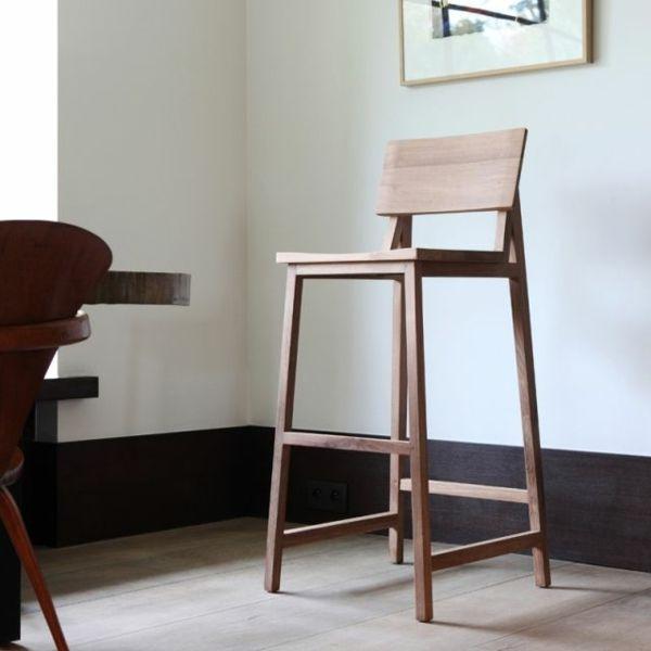 Les Chaises Hautes De Bar Pour Votre Interieur Moderne Chaise Haute Bar Chaise Haute Bois Chaise