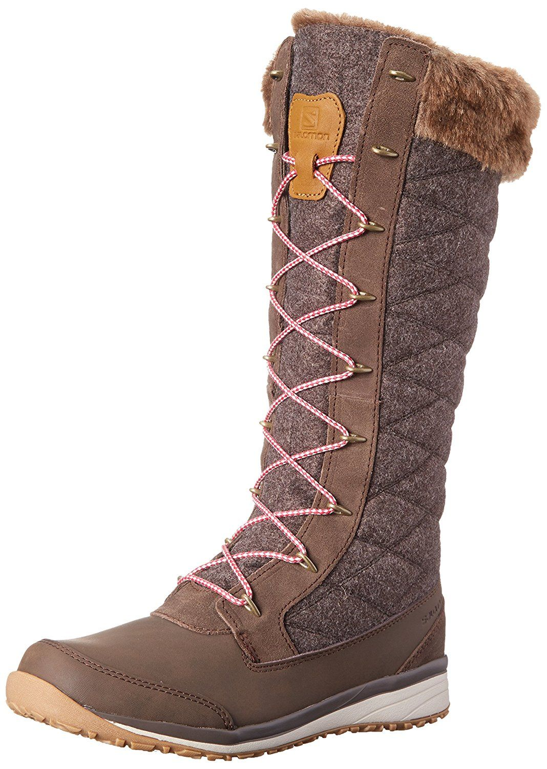 Salomon Women's Hime High Snow Boot -- This is an Amazon Affiliate link. You