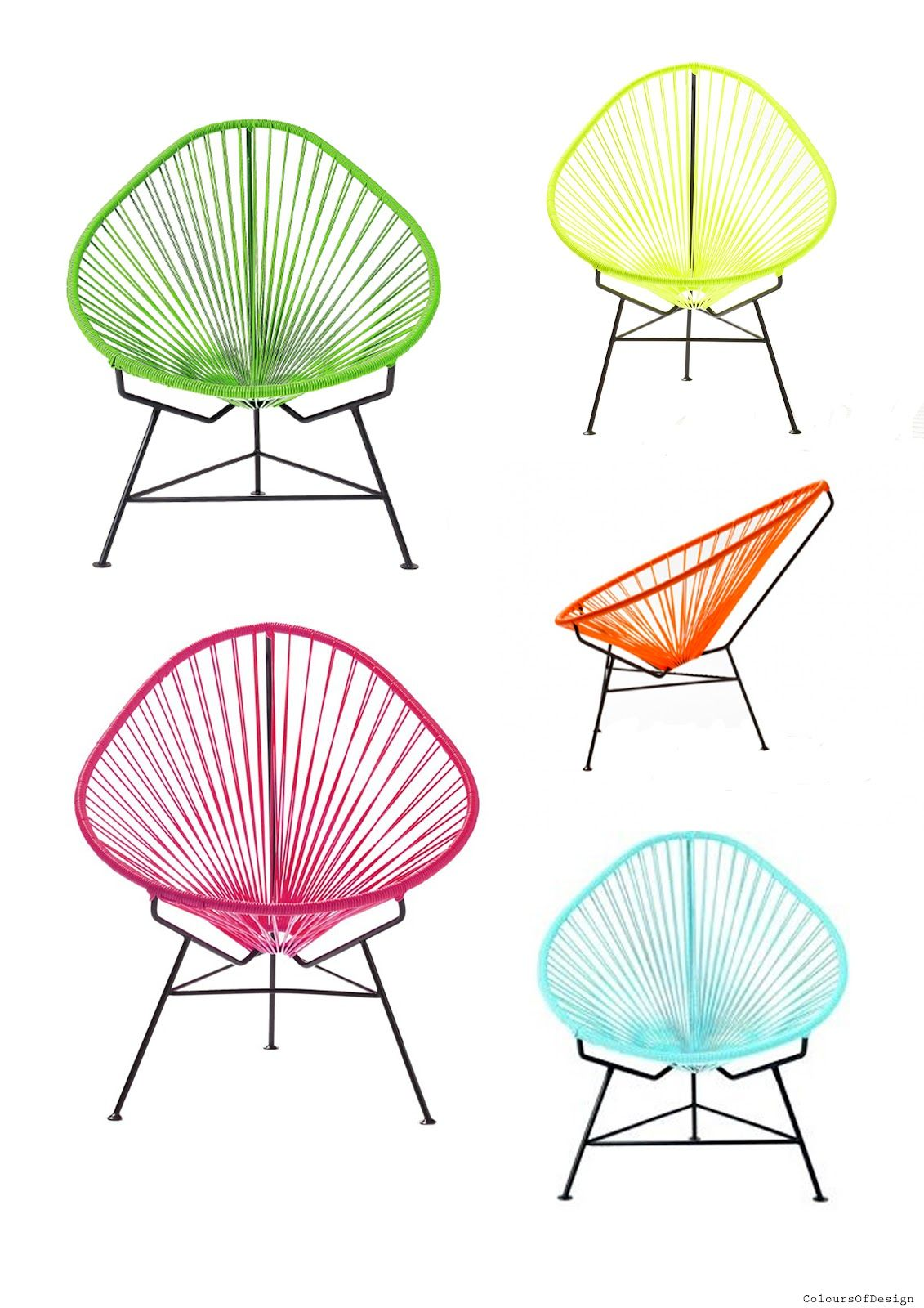 Colours of Design Love at first sight the Acapulco chair Ideas