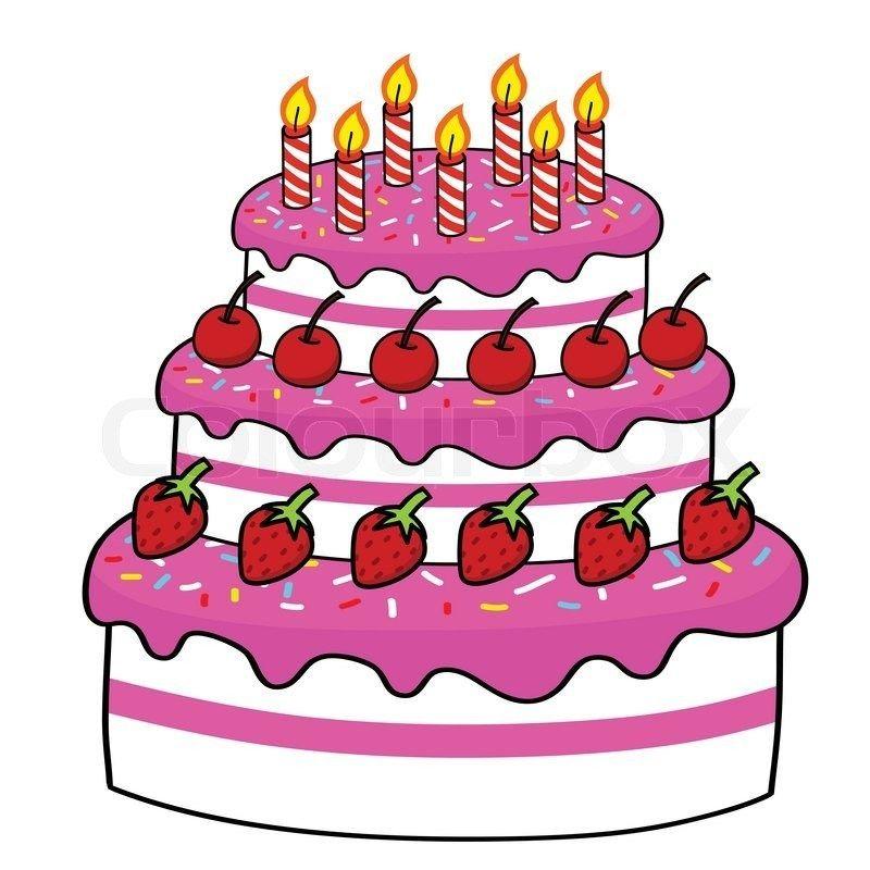 Bild Animation Beste Geburtstagskuchen Geburtstagstorte