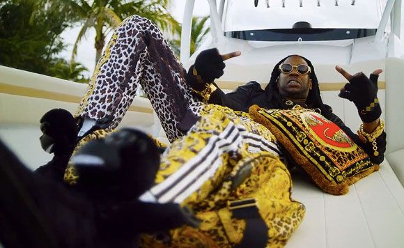 2 Chainz Adidas Shoes   Chainz Wears Leopard Print Tracksuit In 'I'm Different' Video ...