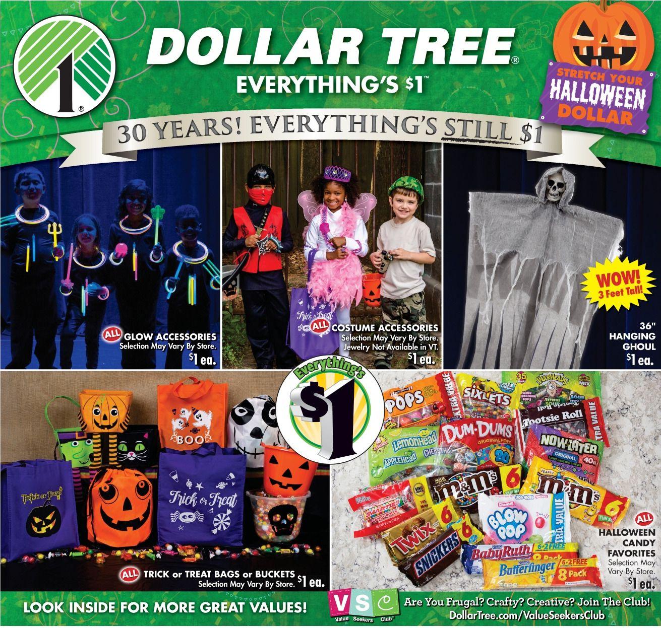 Dollar Tree Halloween Sales
