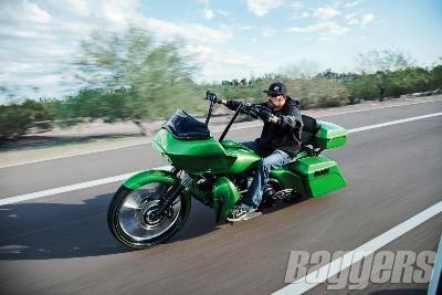 Paul Yaffe's Lime Time Road Glide | I Love Harley Davidson Bikes