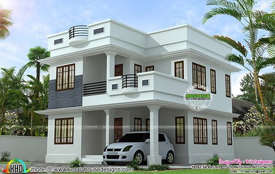 Neat And Simple Small House Plan