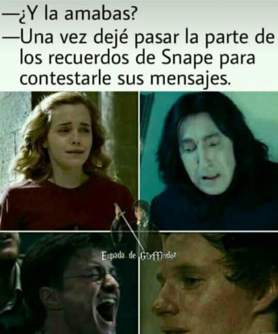 Pin De Sara Rodriguez Ramirez En Memes De Hp Memes De Libros Libros De Harry Potter Memes De Harry Potter