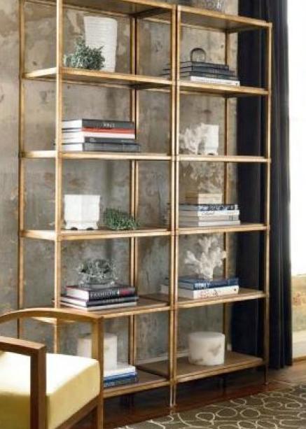 ikea vittsj shelving unit painted gold deko ideen m bel ikea und wohnzimmer. Black Bedroom Furniture Sets. Home Design Ideas