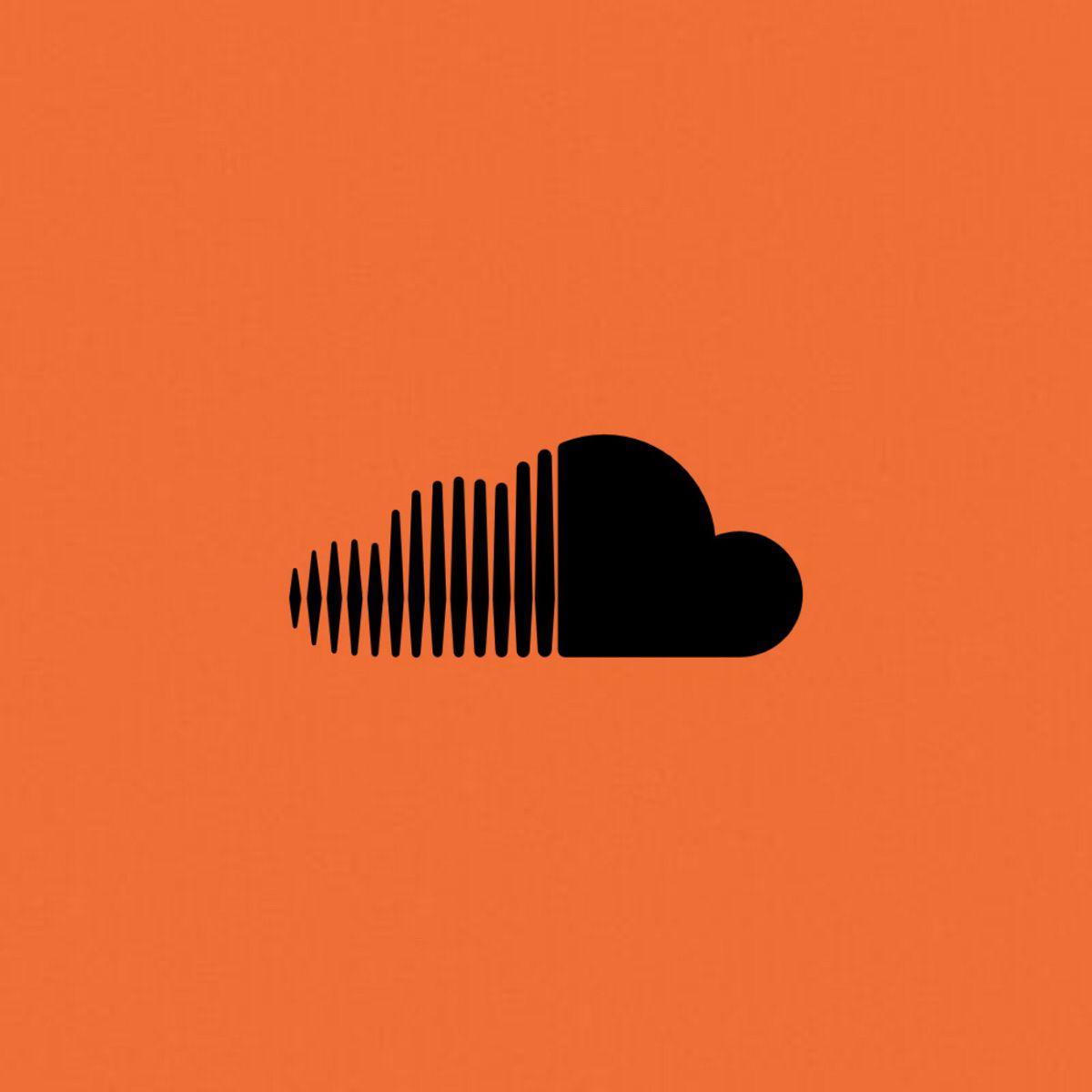 Orange Soundcloud Icon Icon Soundcloud Nike Logo