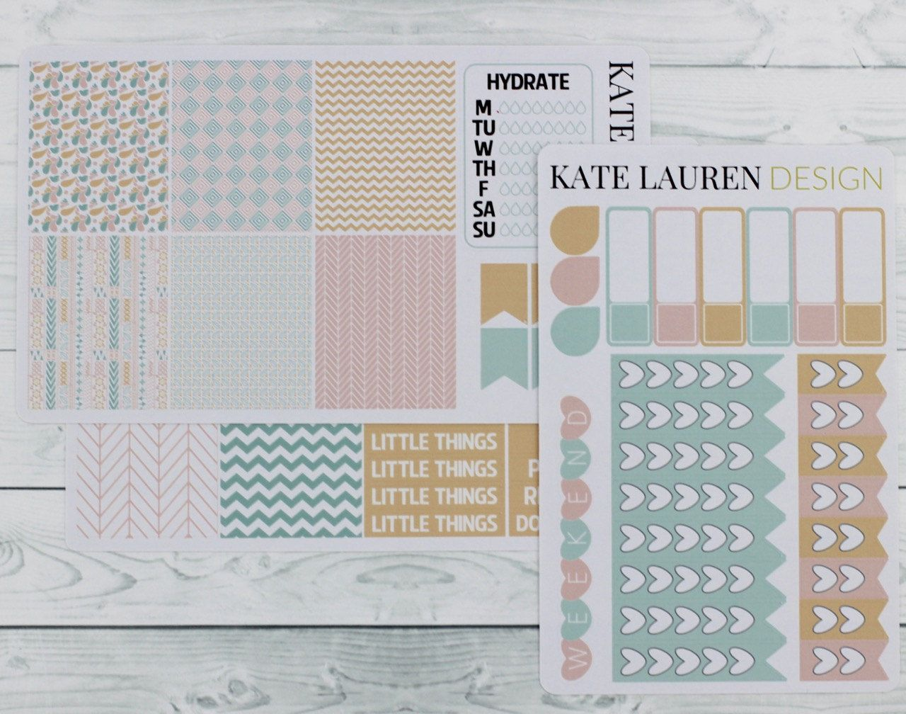 Pastel Tribal Weekly Kit for Erin Condren Planner Pastel Stickers Planner Stickers Tribal Stickers