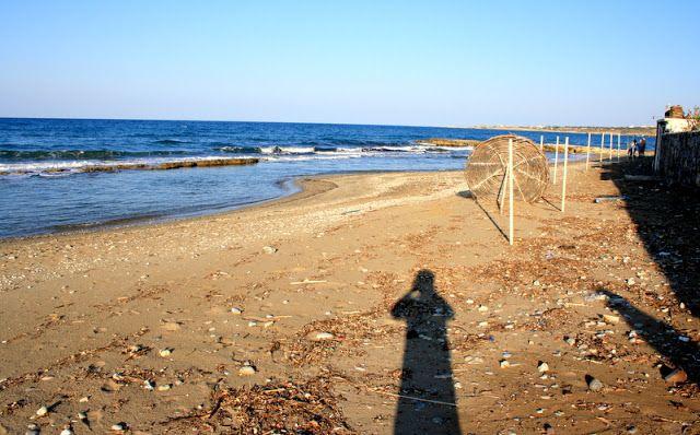 Alagadi turtle beach. Kyrenia - Cyprus.