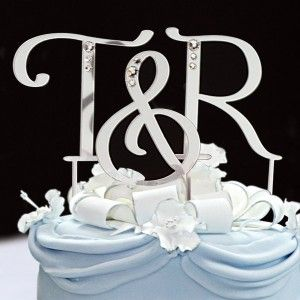 You searched for cake topper initials   The Wedding Specialists