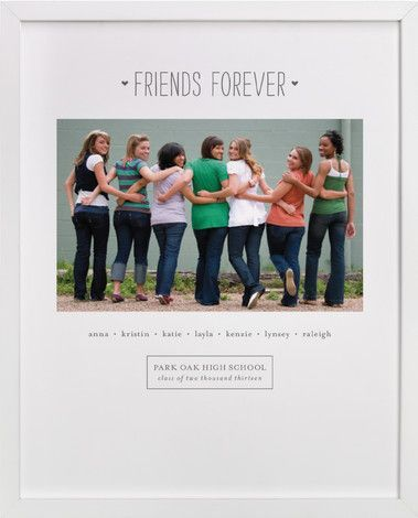"Photo of ""Friends Forever"" – Custom Photo Art Print by Sara Hicks Malone."