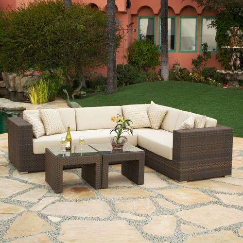 Panorama 4 Piece Patio Deep Seating Sectional   Costco ($2000)