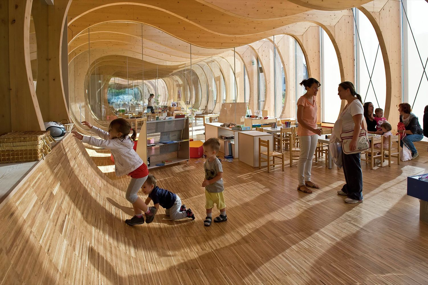 Gallery of Preschool of Aknaibich / BC architects + MAMOTH - 17 ...