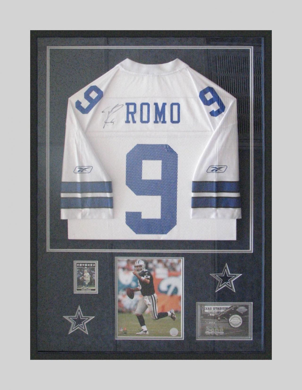 Jersey in Shadow Box...gotta do this with my Novacek