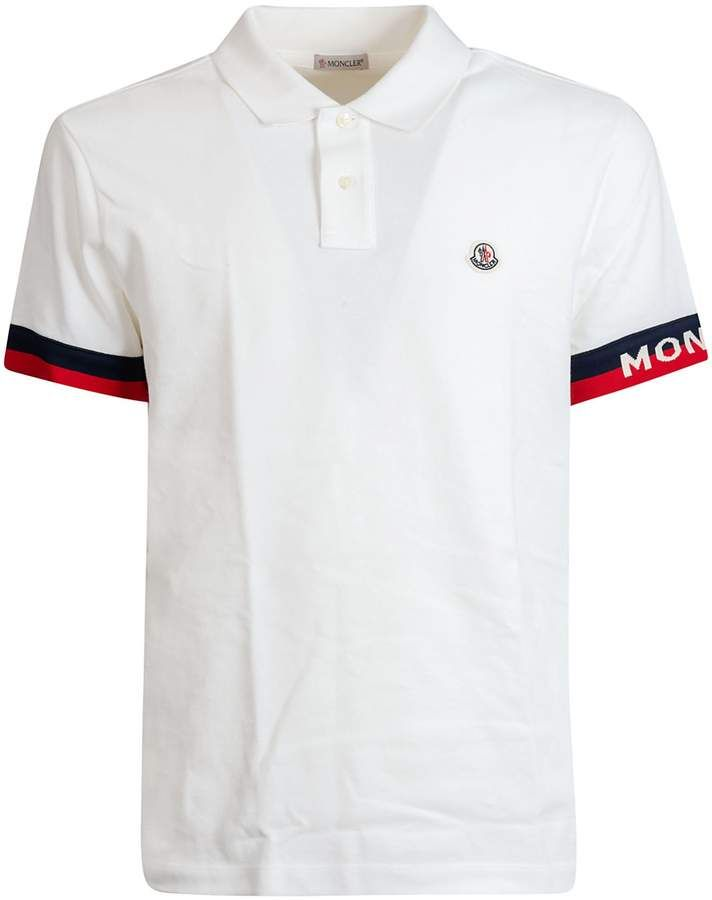 757746e8 Moncler Logo Polo Shirt | GOLF in 2019 | Polo, Polo Shirt, Moncler