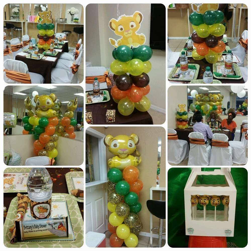 Lion King Baby Shower Party Ideas In 2019 Lion King