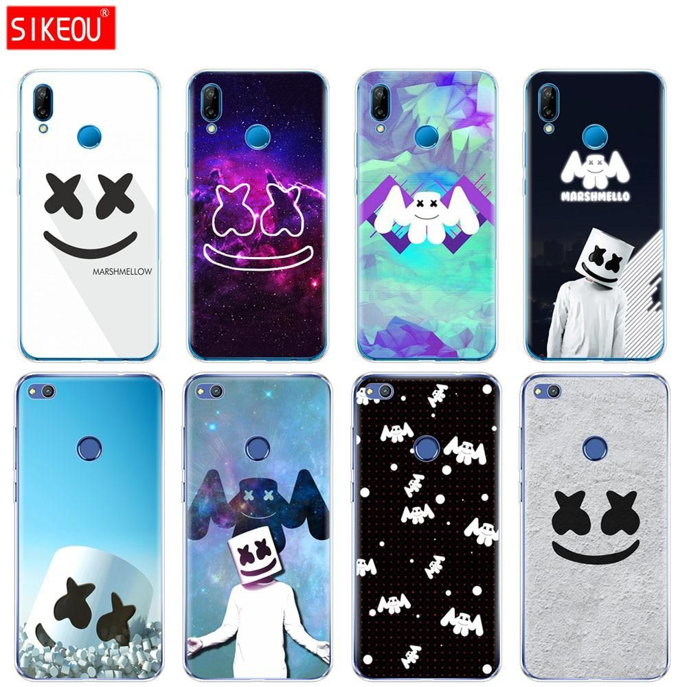 Silicone Cover Phone Case For Huawei P20 P7 P8 P9 P10 Lite Plus ...