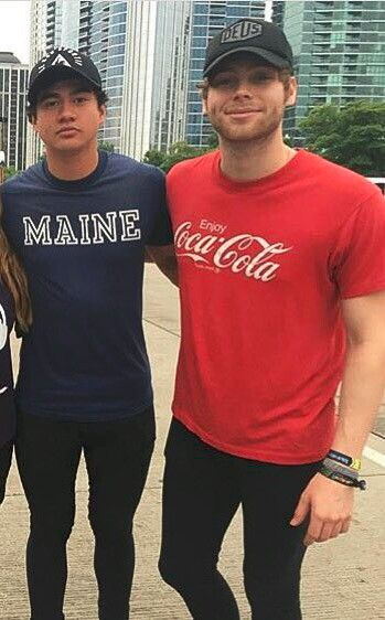 Calum Brought The Maine Shirt Back When No One Else Did