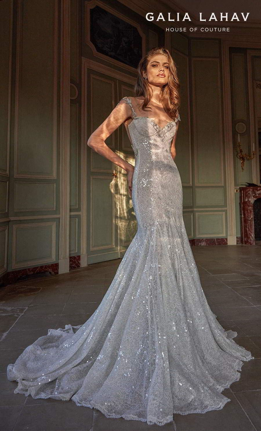 Galia Lahav S Fall 2020 Wedding Dresses Are Dazzling Fancy White Couture Bridal Collection Wedding Inspirasi Petite Wedding Dress Best Wedding Dresses Bridal Couture [ 1485 x 900 Pixel ]