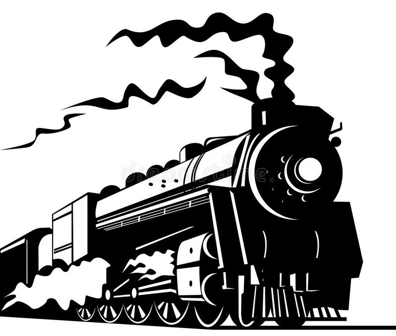 Train Vector Art On Rail Transport And Travel Isolated On White Aff Art Rail Train Vector Isolated Ad Train Wall Art Train Art Sticker Wall Art