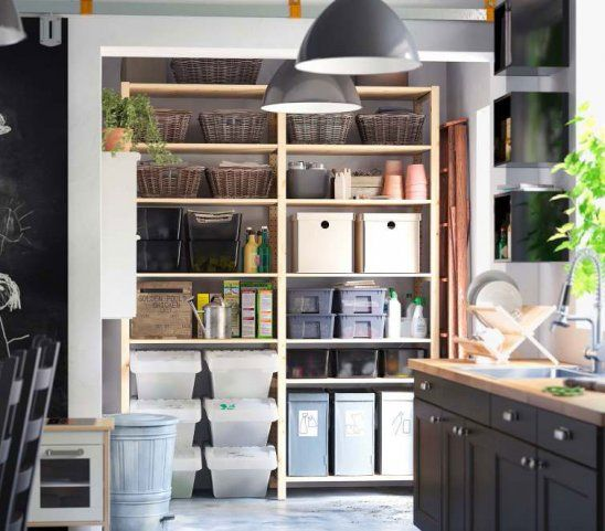 Kitchen Storage Ideas For Small Spaces: Storage Solutions