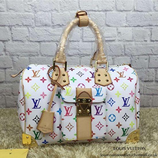 97457a6e862b Louis Vuitton M92643 Speedy 30 Tote Bag Monogram Multicolore Canvas ...
