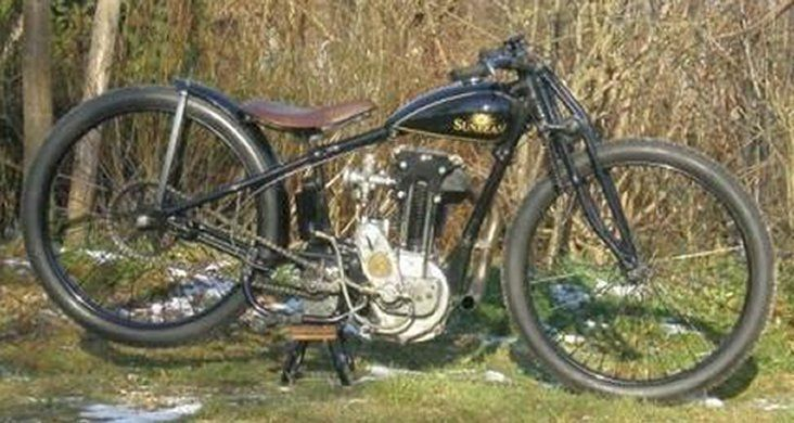 1930 Sunbeam One Of The Bikes Used On The Early Dirt