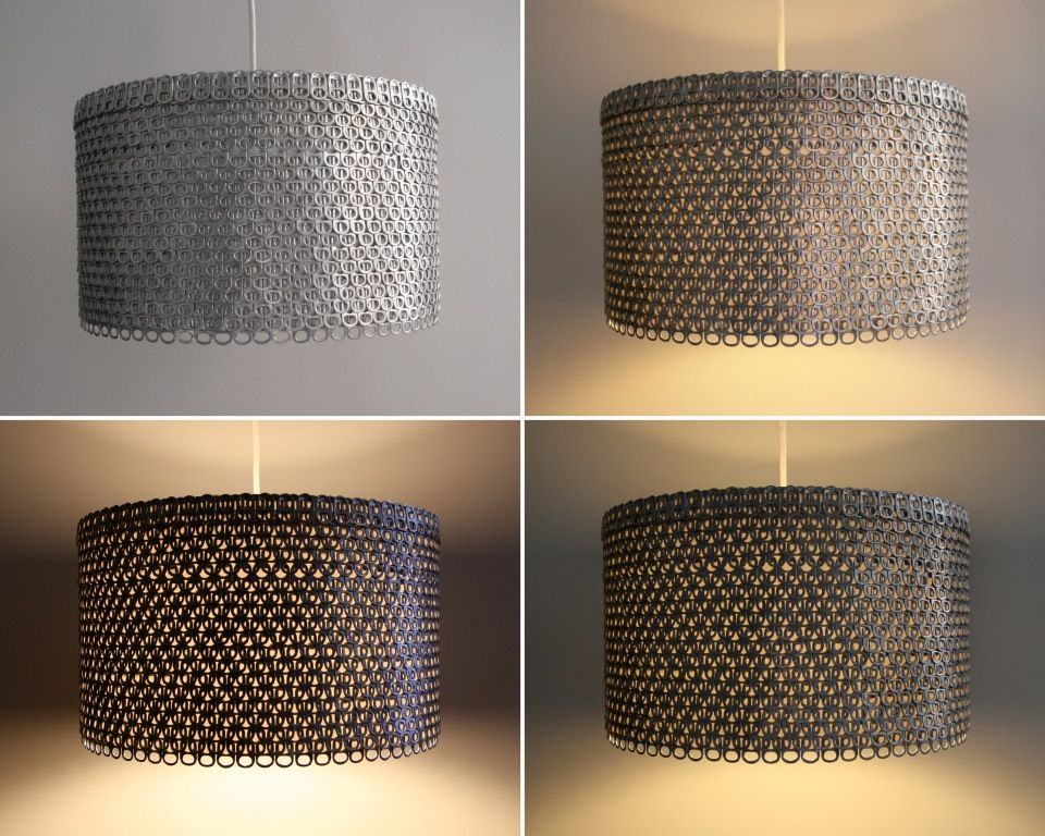 Soda Can Tab Large Drum Shade Extra Large Lamp Shades Small