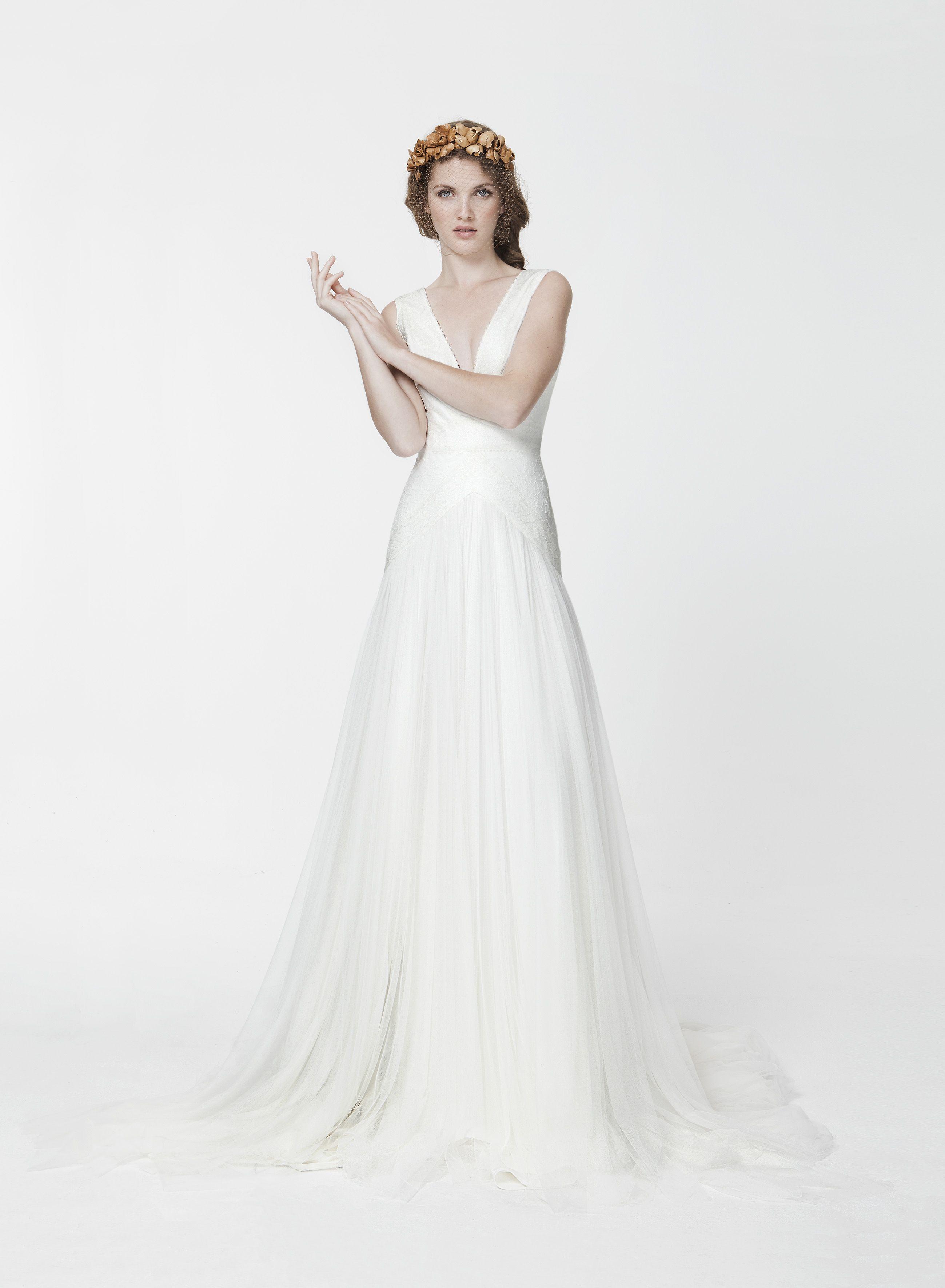 Fein Grecian Inspiriertes Hochzeitskleid Zeitgenössisch ...