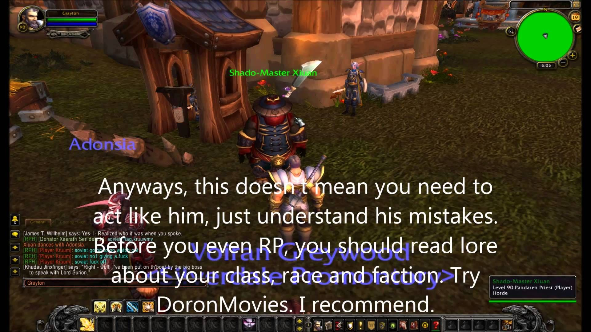 awesome WoW GM RP server Roleplay Heaven: RP Tips and