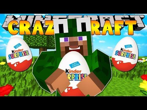Minecraft Crazy Craft 3 0 Opening Surprise Eggs 28 Youtube