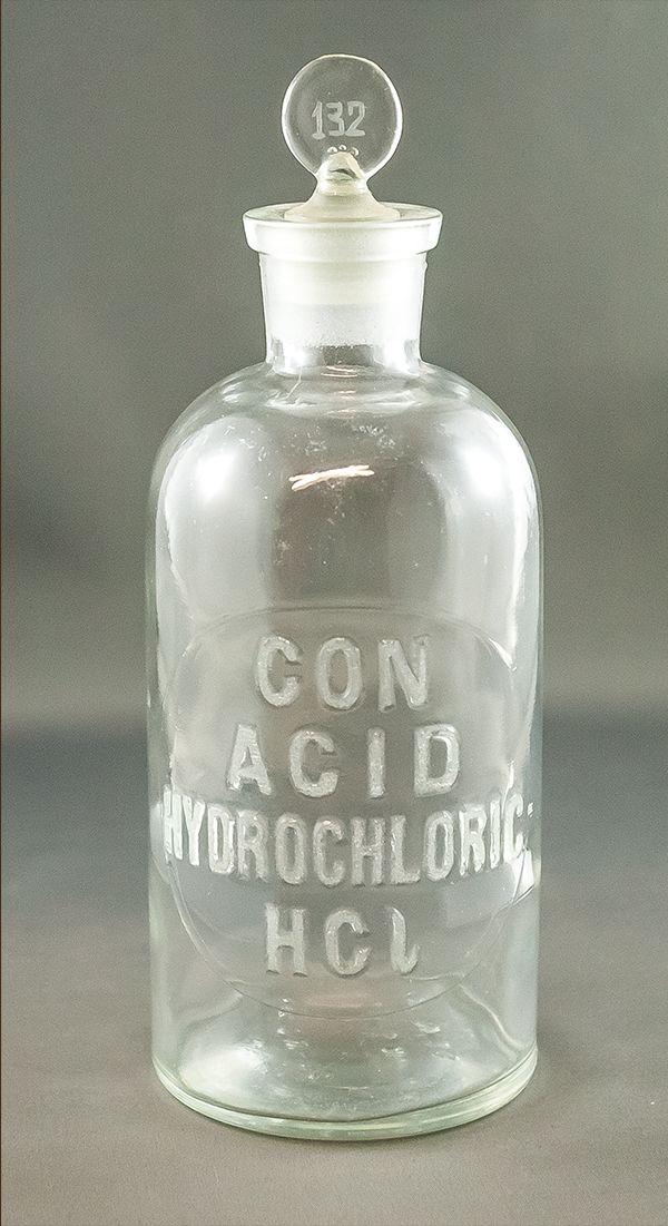 Hydrochloric Acid Bottle