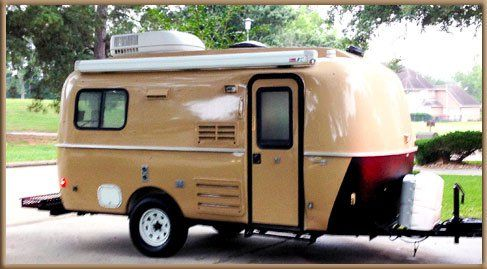 Casita Travel Trailer With Great Retro Style