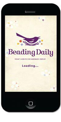 Free Beading Daily App Screenshot #iPhone | Free Beading