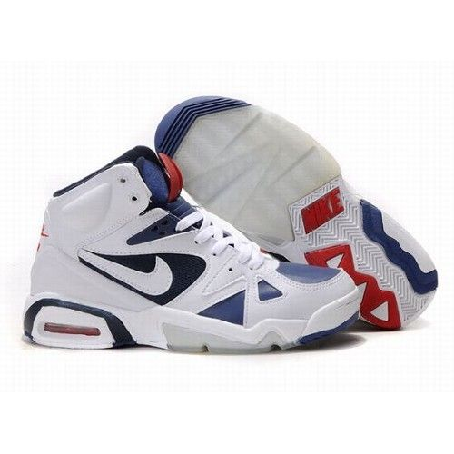 Chic Nike Air Max 91 Hoop Men White University Blue Shoes $72.5