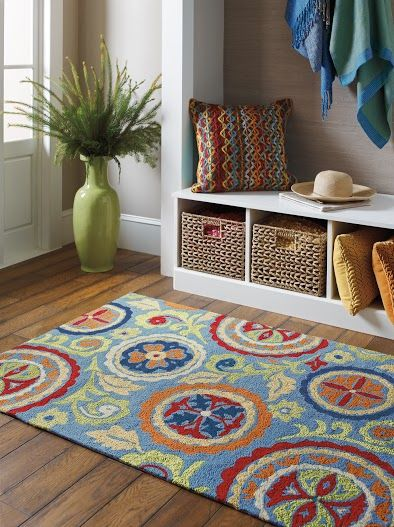 Two MORE Ways to Create Barefoot Coastal Style Indoor outdoor rugs