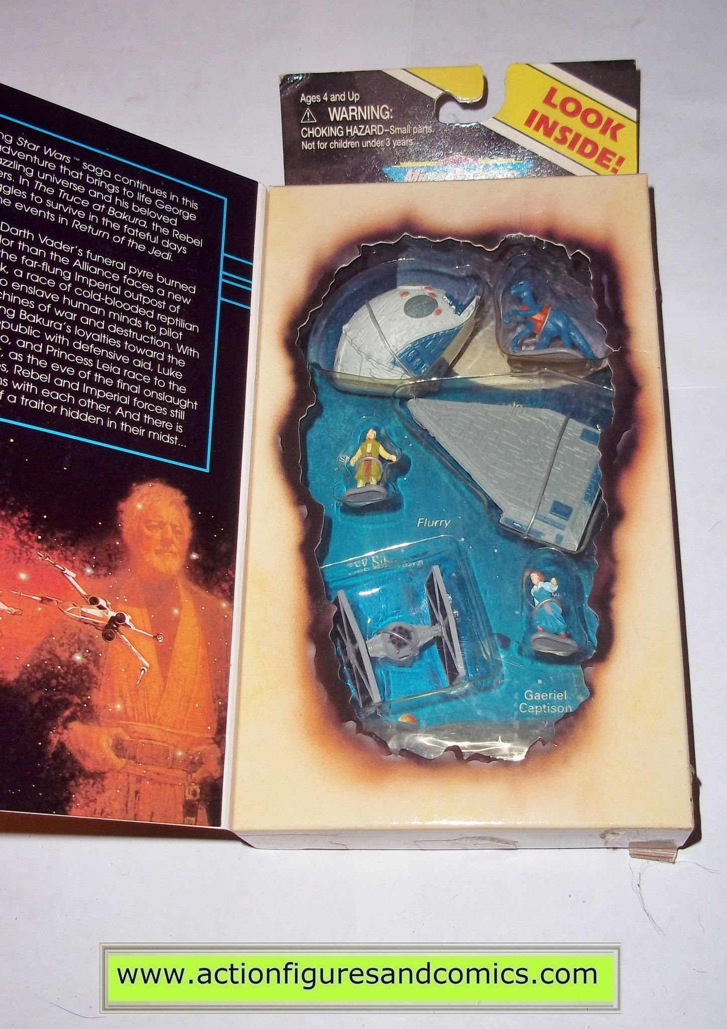 Star Wars Micro Machines Epic Collections Truce at Bakura set New!