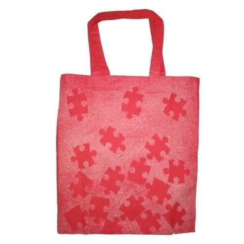 Puzzle Bleached Canvas Tote Bag by ContreLeJour on Etsy https://www.etsy.com/listing/61637078/puzzle-bleached-canvas-tote-bag