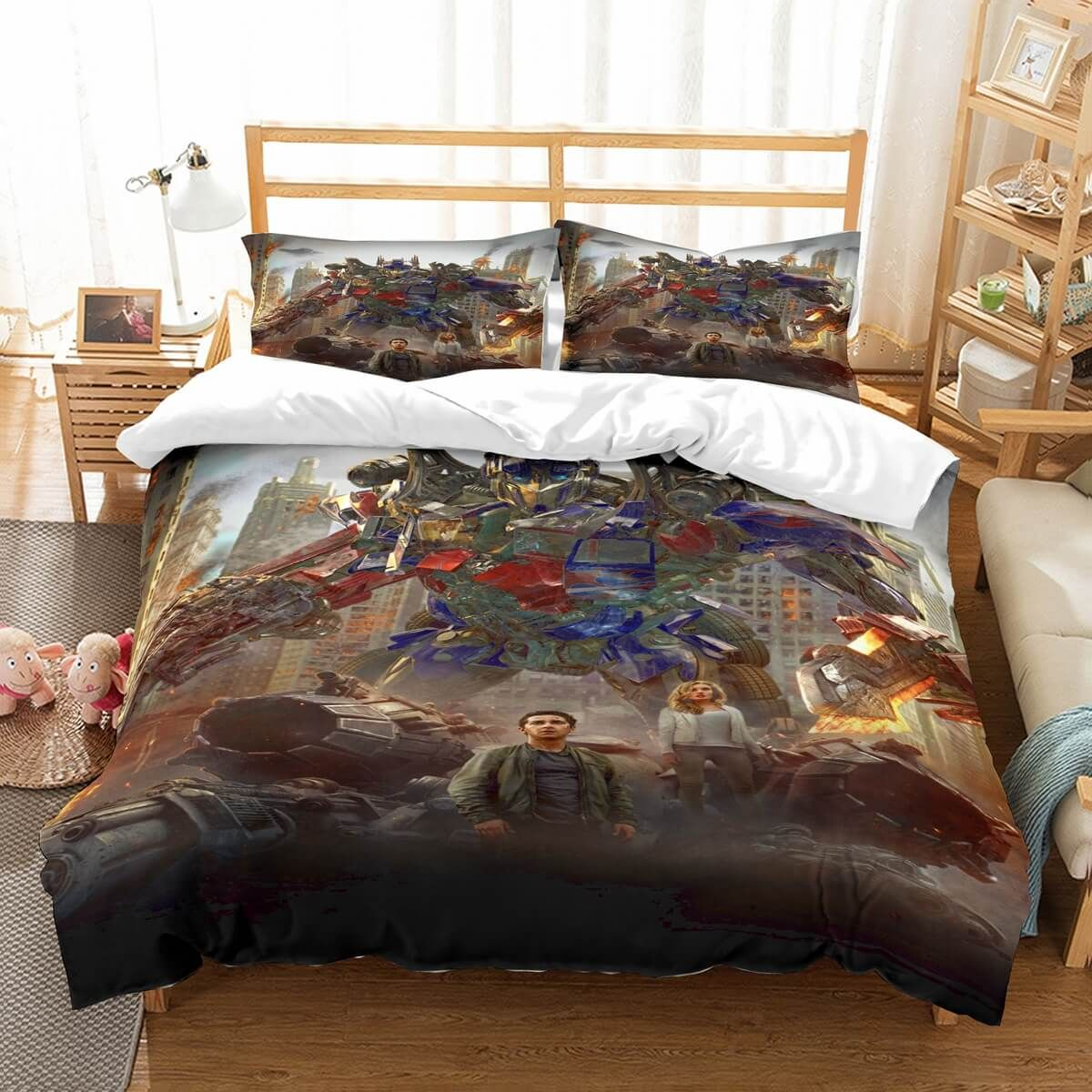 Customize Transformers Bedding Set Duvet Cover Bedroom Bedlinen Sets Linen
