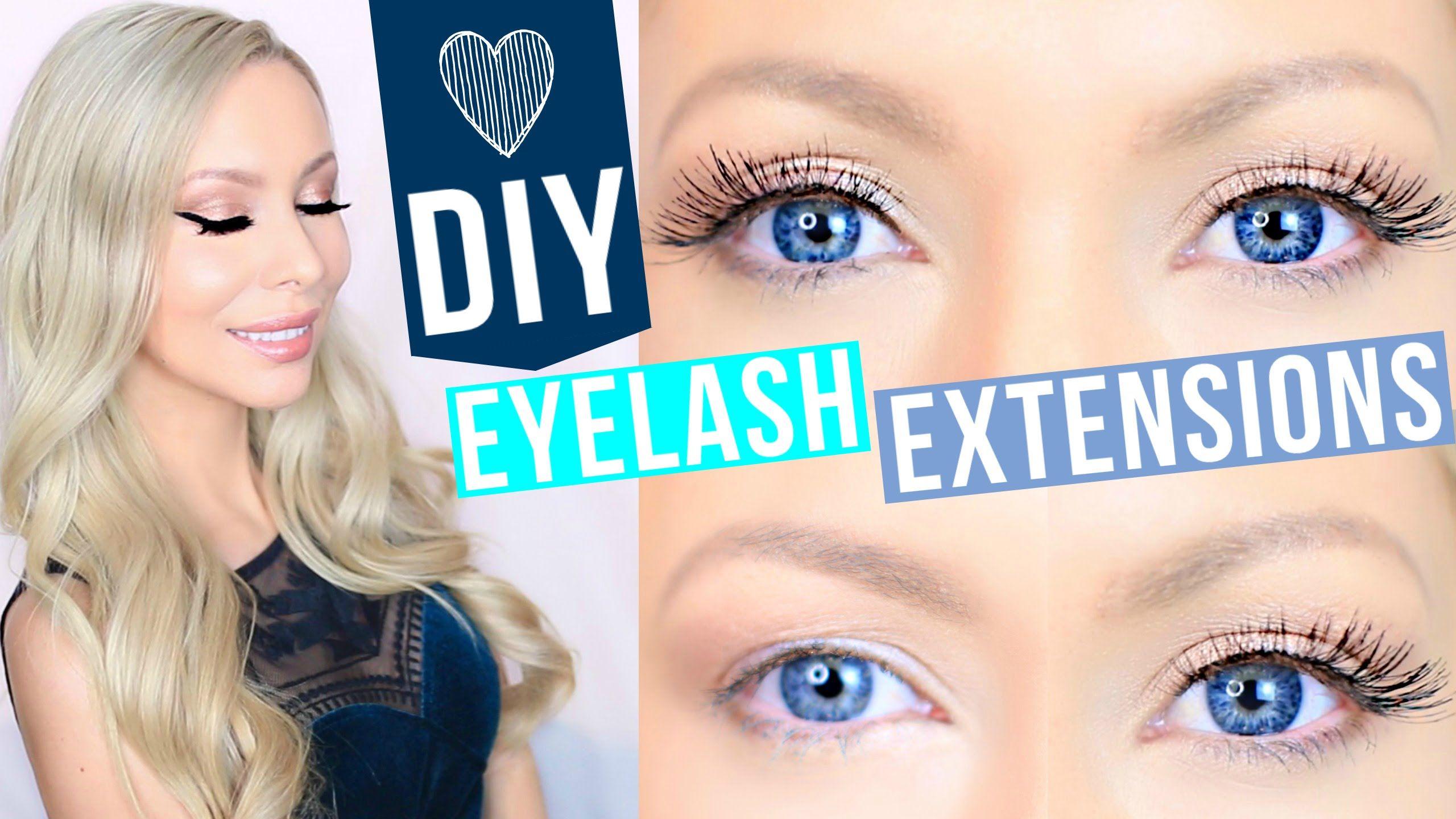 Diy eyelash extensions lashes pinterest extensions makeup diy eyelash extensions solutioingenieria Gallery