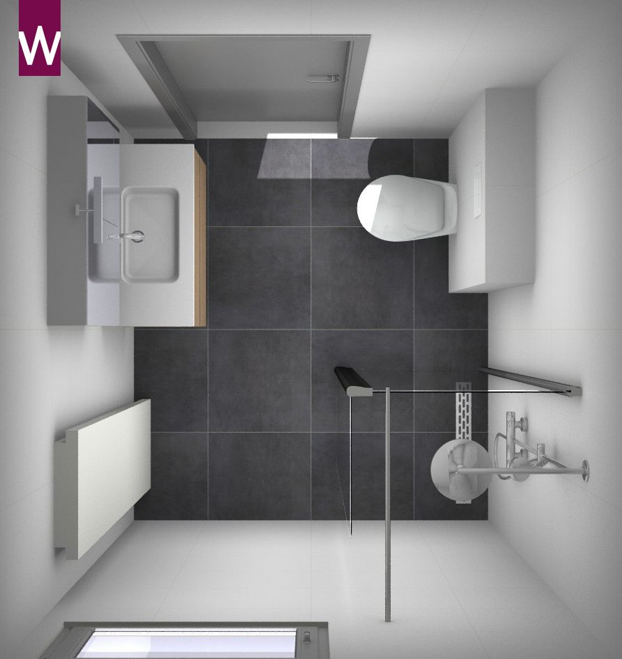 3d badkamer ontwerp