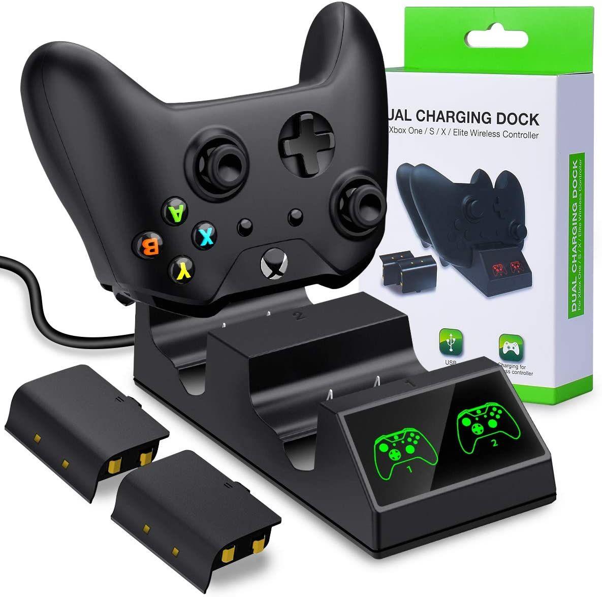 Beboncool Xbox One Controller Batteries Packs Xbox One X One S One Elite Dual Controlle Xbox One Elite Controller Xbox Wireless Controller Xbox