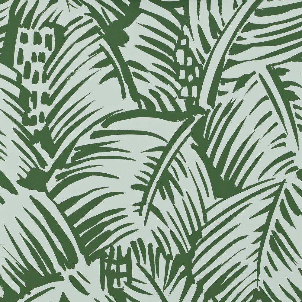 Fabric tree pattern - Feuillage Palm Pattern Hermes Paris Fashion Brand Wallpaper Design Fabric Pattern