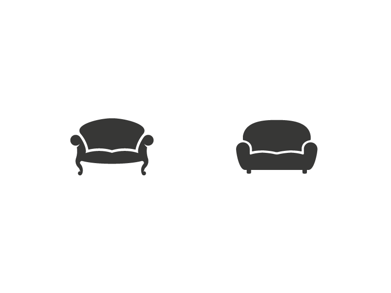 Couch Logos Which One Isofa Furniture Logo Design Logos