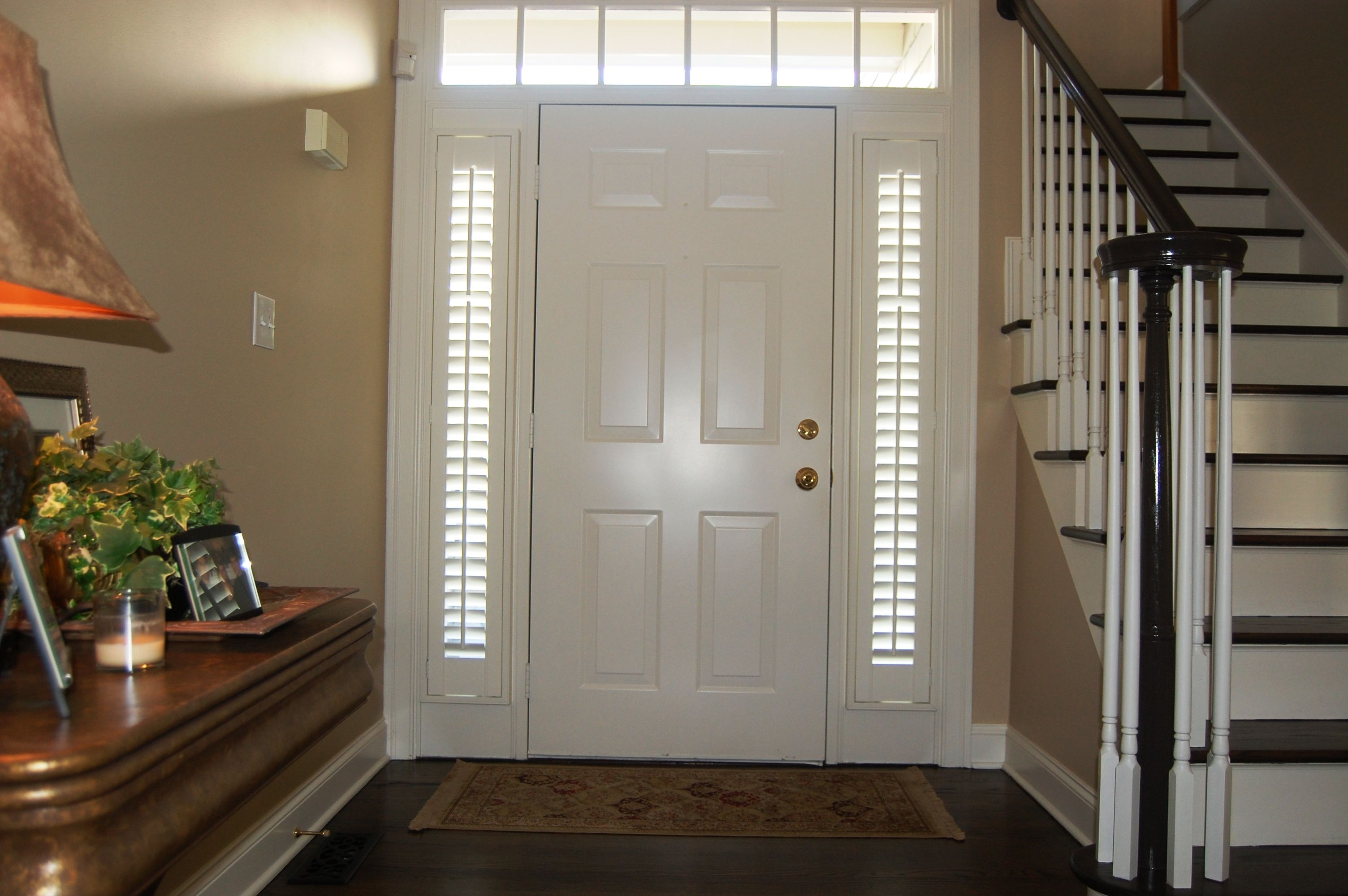 Plantation Shutters For Sidelights Wrentham Ma In 2019