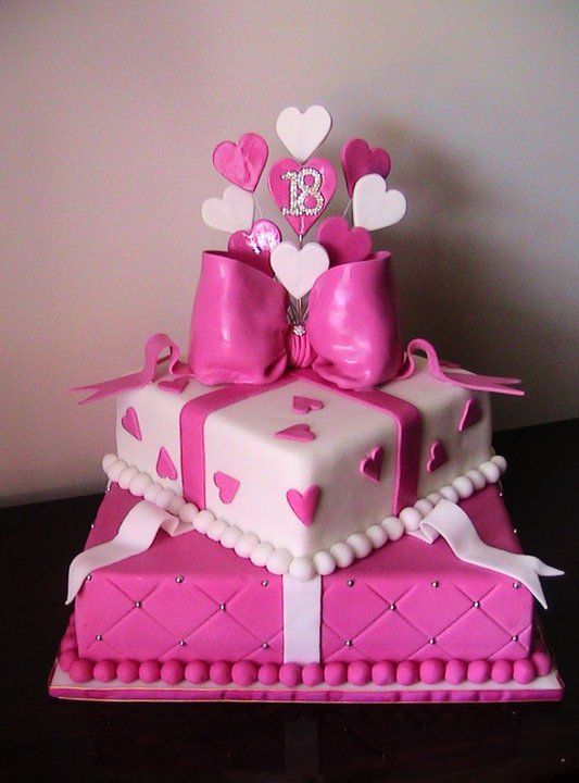 cool 18th birthday cake ideas